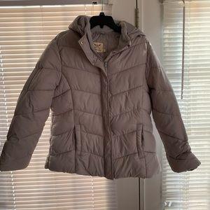 Gray Puffy Jacket